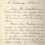 Brev fra Aletta Bjerknes til Anders Løvland 14.07.1904 s. 1