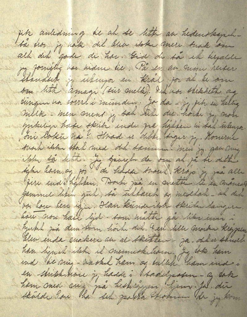 Brev fra Elida Ulltveit Moe til Jorunn Mellegård 14.05.1924 s. 3