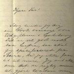 Brev fra Stian Terjesen til Ole Terjesen 10.04.1896 s. 1