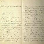 Brev fra Stian Terjesen til Ole Terjesen 15.03.1896 s. 1 og 2