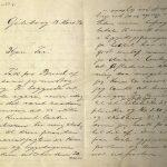 Brev fra Stian Terjesen til Ole Terjesen 18.03.1896 s. 1 og 2