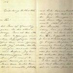 Brev fra Stian Terjesen til Ole Terjesen 31.03.1896 s. 1 og 2