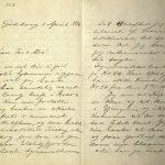 Brev fra Stian Terjesen til sin far og mor 02.04.1896 s. 1 og 2