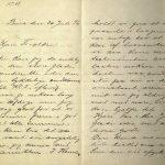 Brev fra Stian Terjesen til sin far og mor 30.07.1896 s. 1 og 2