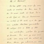 Brev fra Vilhelm Bjerknes til Anders Løvland 14.04.1905 s. 1