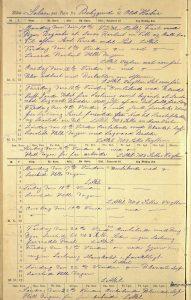 Skipsjournal for bark Solon 10. til 23. oktober 1892