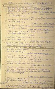Skipsjournal for bark Solon 24. oktober til 5. november 1892