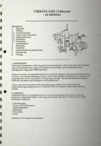 Ideskisse for Cirkusland i Lillesand s. 2