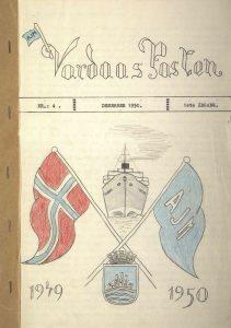 Vardaas Posten nr. 4 desember 1950