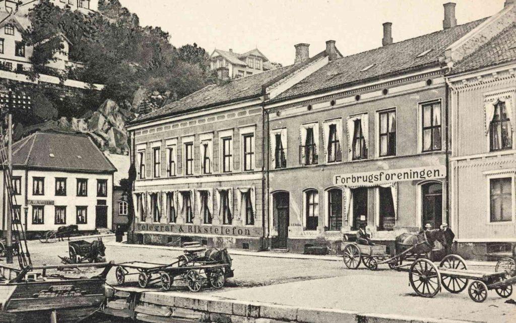 Arendal rundt 1895