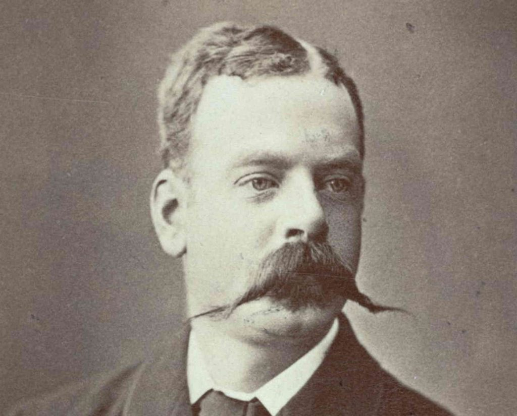 Portrett av konsul Christian Eyde rundt 1890