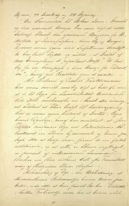 Beretning fra bestyrelsen i Dyrenes beskyttelse i Arendal og Omegn 11.05.1892 s. 2