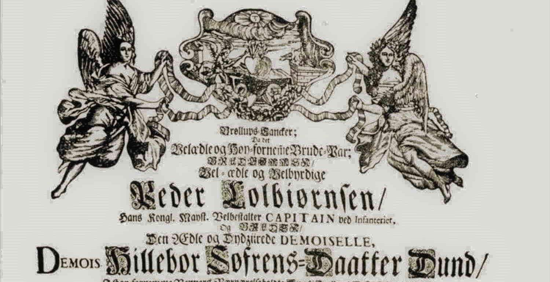 Bryllupsdikt Hilleborg og Peder