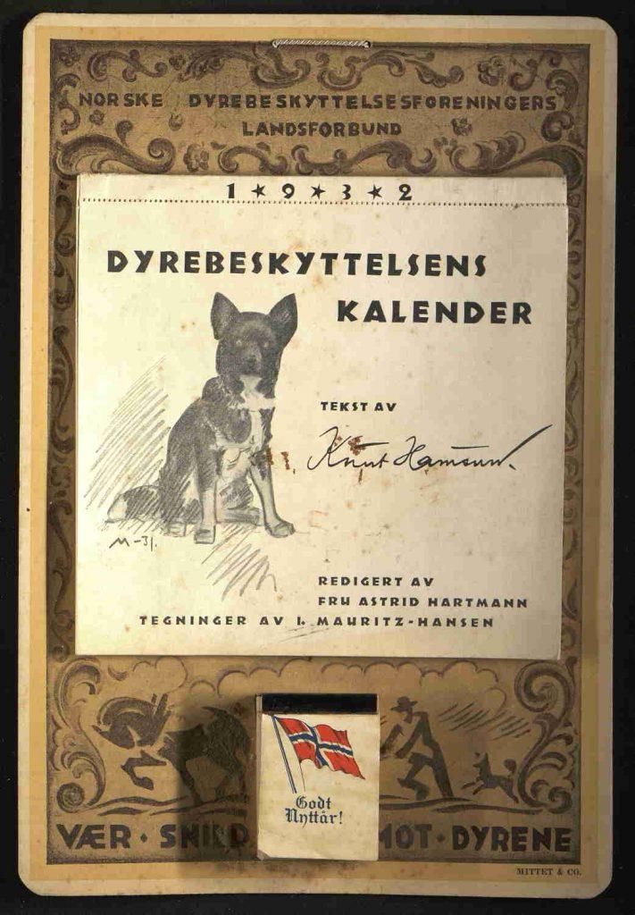 Dyrebeskyttelsens kalender 1932