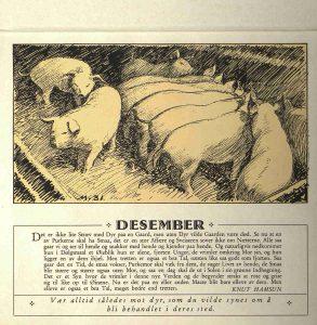 Dyrebeskyttelsens kalender 1932 desember