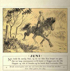 Dyrebeskyttelsens kalender 1932 juni