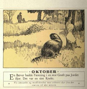 Dyrebeskyttelsens kalender 1932 oktober