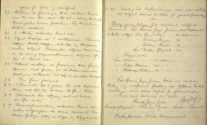 Arendals diskusjonsforening sin journal 1911 til 1921 s. 2 og 3