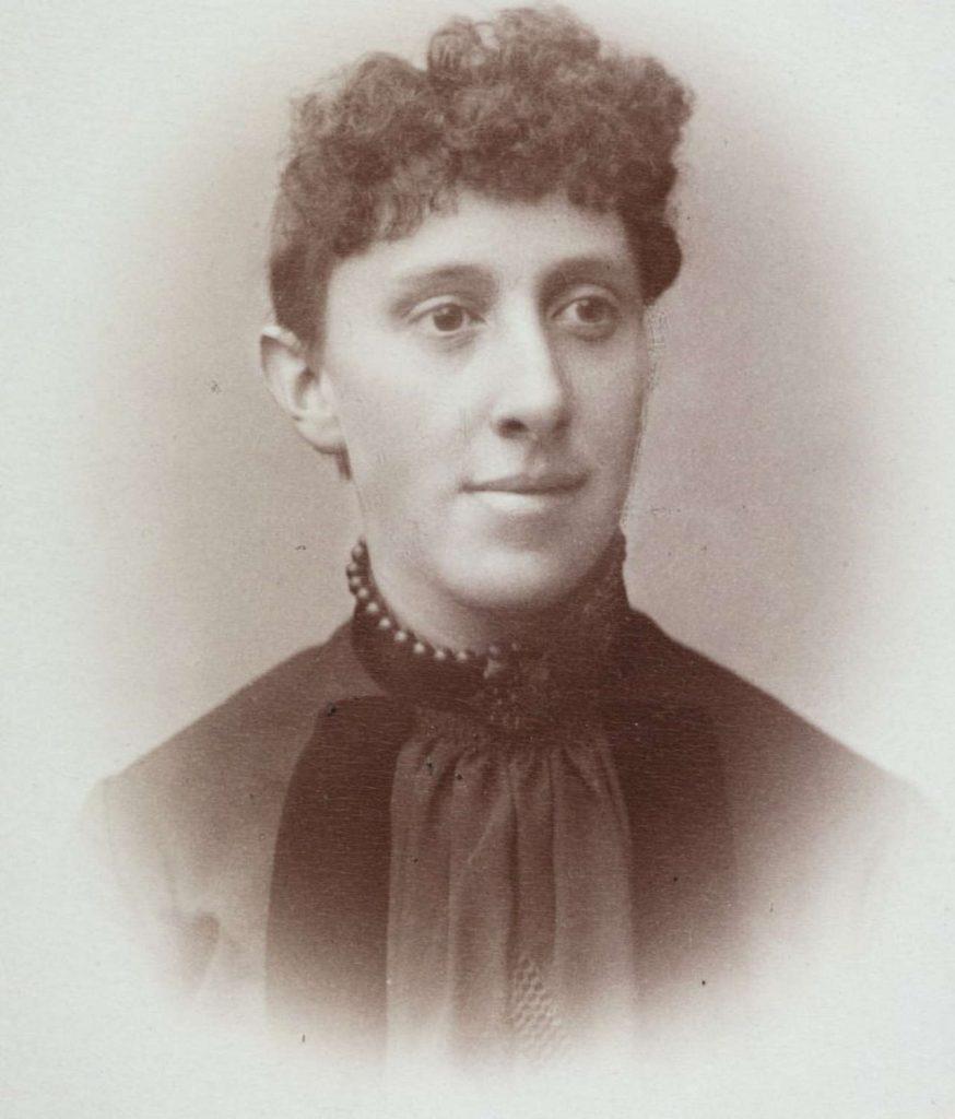 Hanna Dorothea Jæger på 1880-tallet