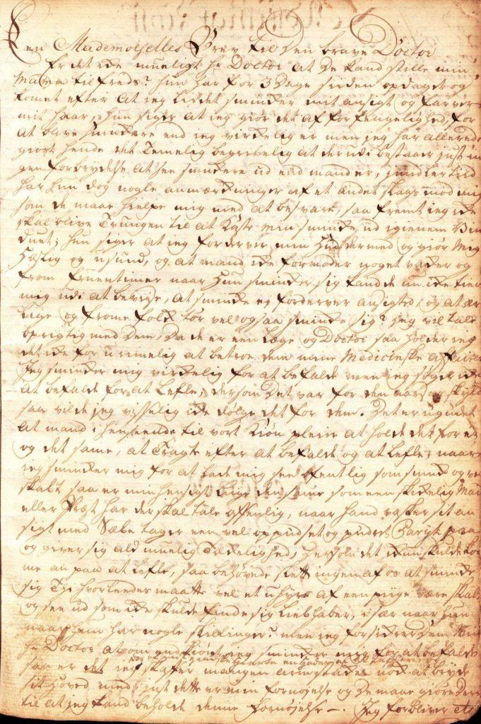 Kongelige Privilegerede Adrese Contoirs nr 1 14.10.1769