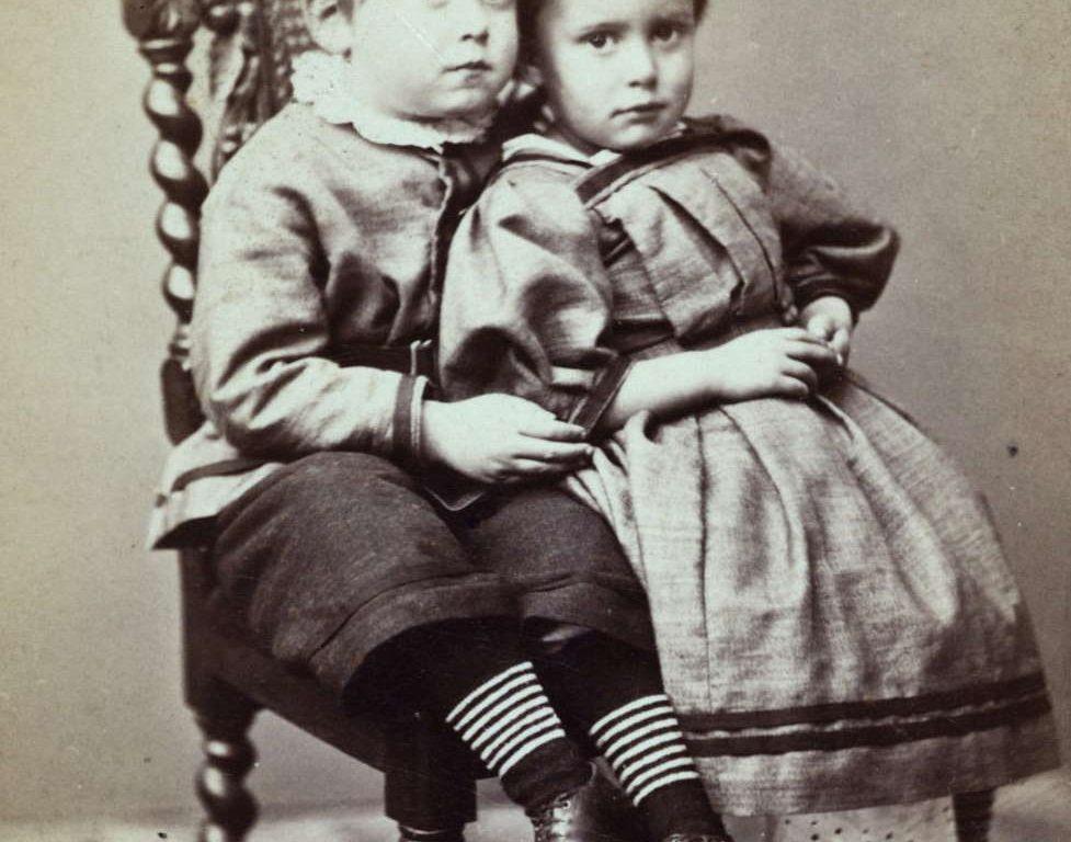 Oskar og Hanna Dorothea Jæger rundt 1868