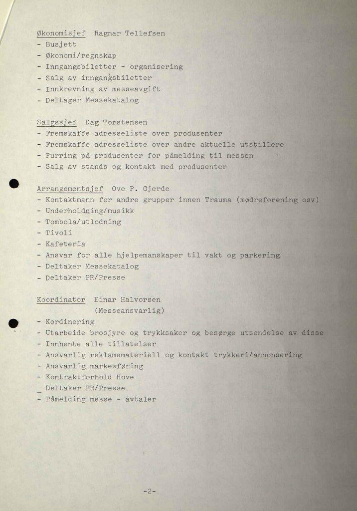Andre møtereferat i Trauma om båtmesse 29.12.1980 s. 2