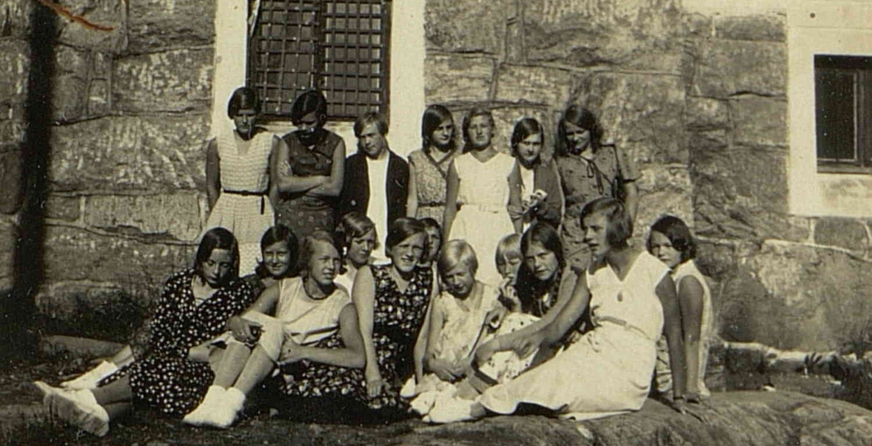 Tvedestrand Røde kors 1931