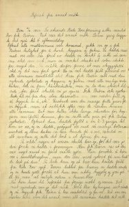 Tvedestrand Røde kors sin møtebok 1931 s. 2