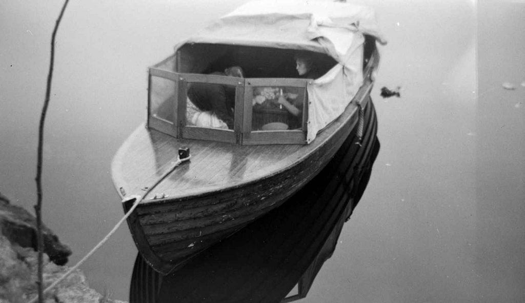 23 fots sjekte fra Skilsø Baatbyggeri rundt 1934