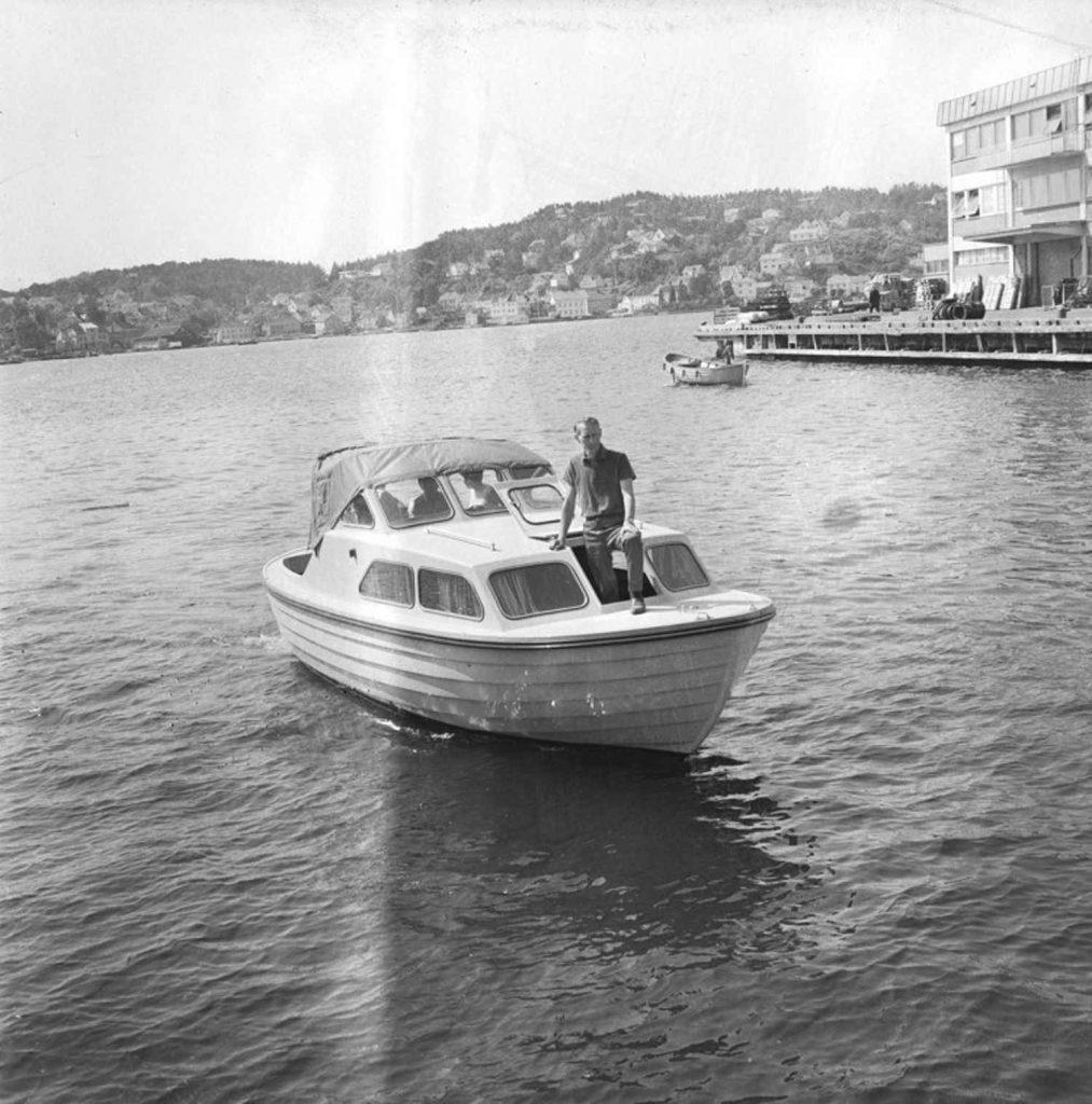 Rolf Roland i en Skilsø 23 i 1971