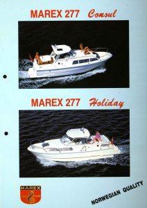 Brosjyre for Marex 277 fra rundt 1992 s. 1