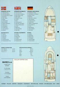 Brosjyre for Marex 277 fra rundt 1992 s. 3