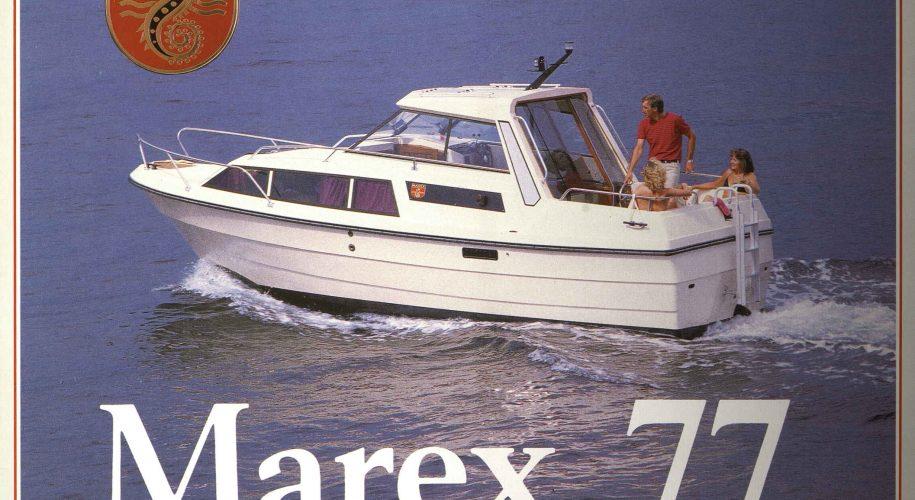 Brosjyre for Marex 77 fra rundt 1992 s. 1