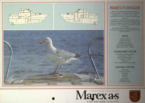 Brosjyre for Marex 77 fra rundt 1992 s. 4