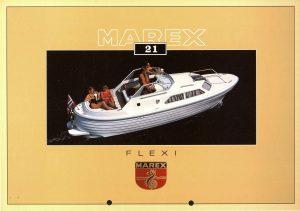 Brosjyre for Marex Flexi fra rundt 1992 s. 1