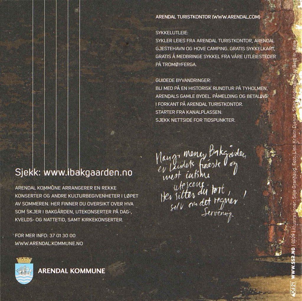 Programblad Bakgården 2011 6