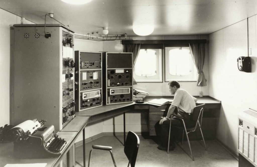 "Radiorommet på M/S ""Condo"""