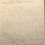 Forhandlingsprotokoll til Grundlovsvennernes Forening for Grimstad By s. 33