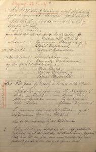 Forhandlingsprotokoll Aust-Agder Bondeparti 1921 s. 3