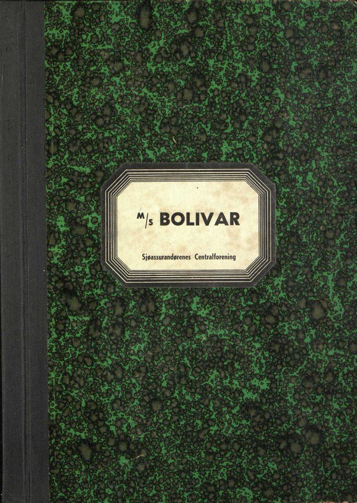 "Forsikringsrapport for M/S ""Bolivar"" 1946"