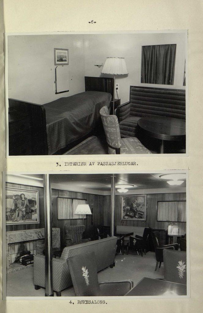 "Forsikringsrapport for M/S ""Bolivar"" 1946 s. 6"