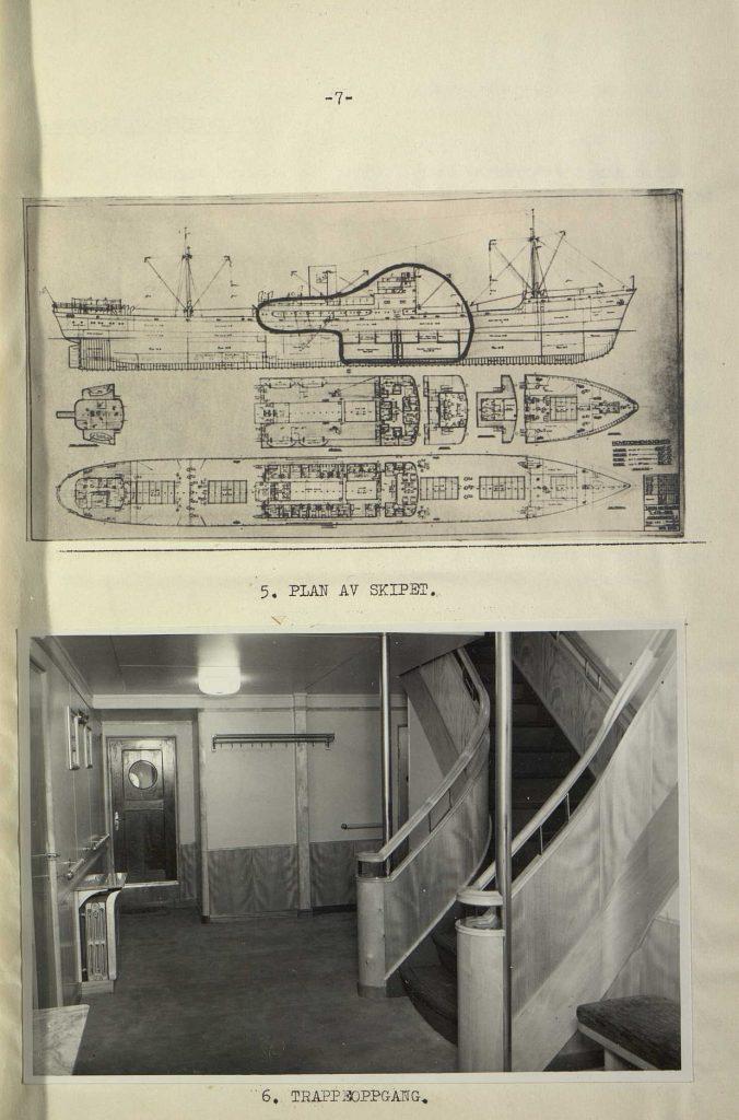 "Forsikringsrapport for M/S ""Bolivar"" 1946 s. 7"